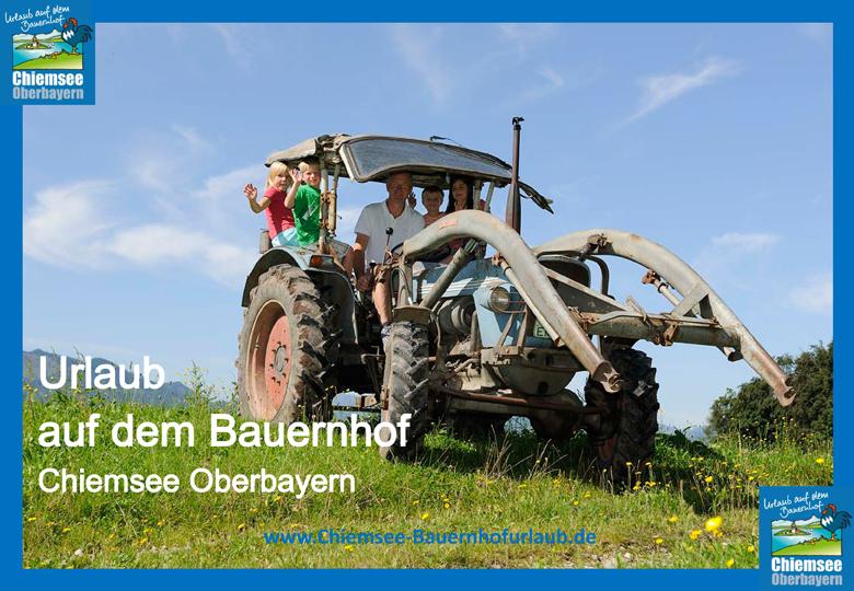 Urlaub auf dem Bauernhof Chiemsee Oberbayern Buldog
