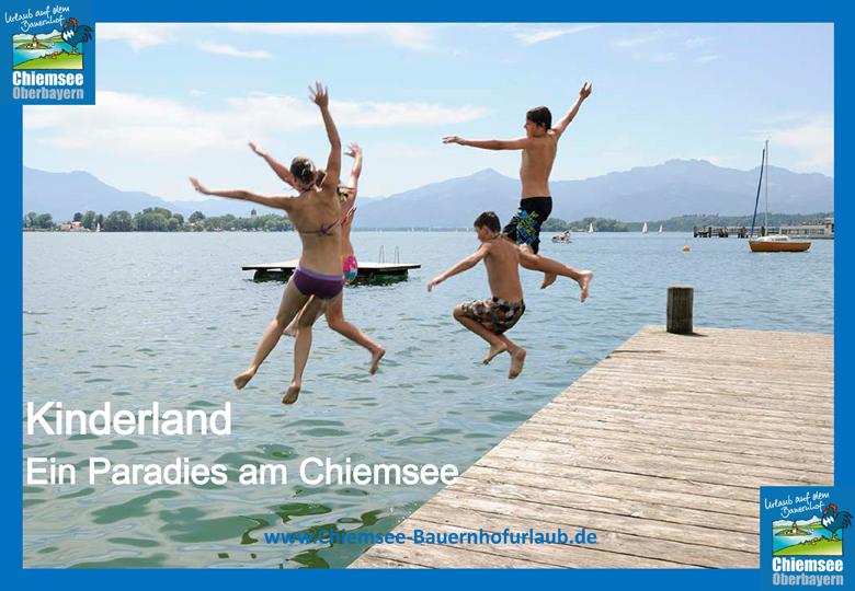 Urlaub auf dem Bauernhof Chiemsee Oberbayern Paradies