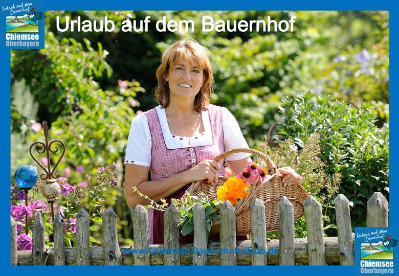 Urlaub auf dem Bauernhof Chiemsee Oberbayern Kräuterhof