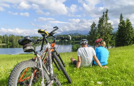 Moutainbike-Tour im Allgäu