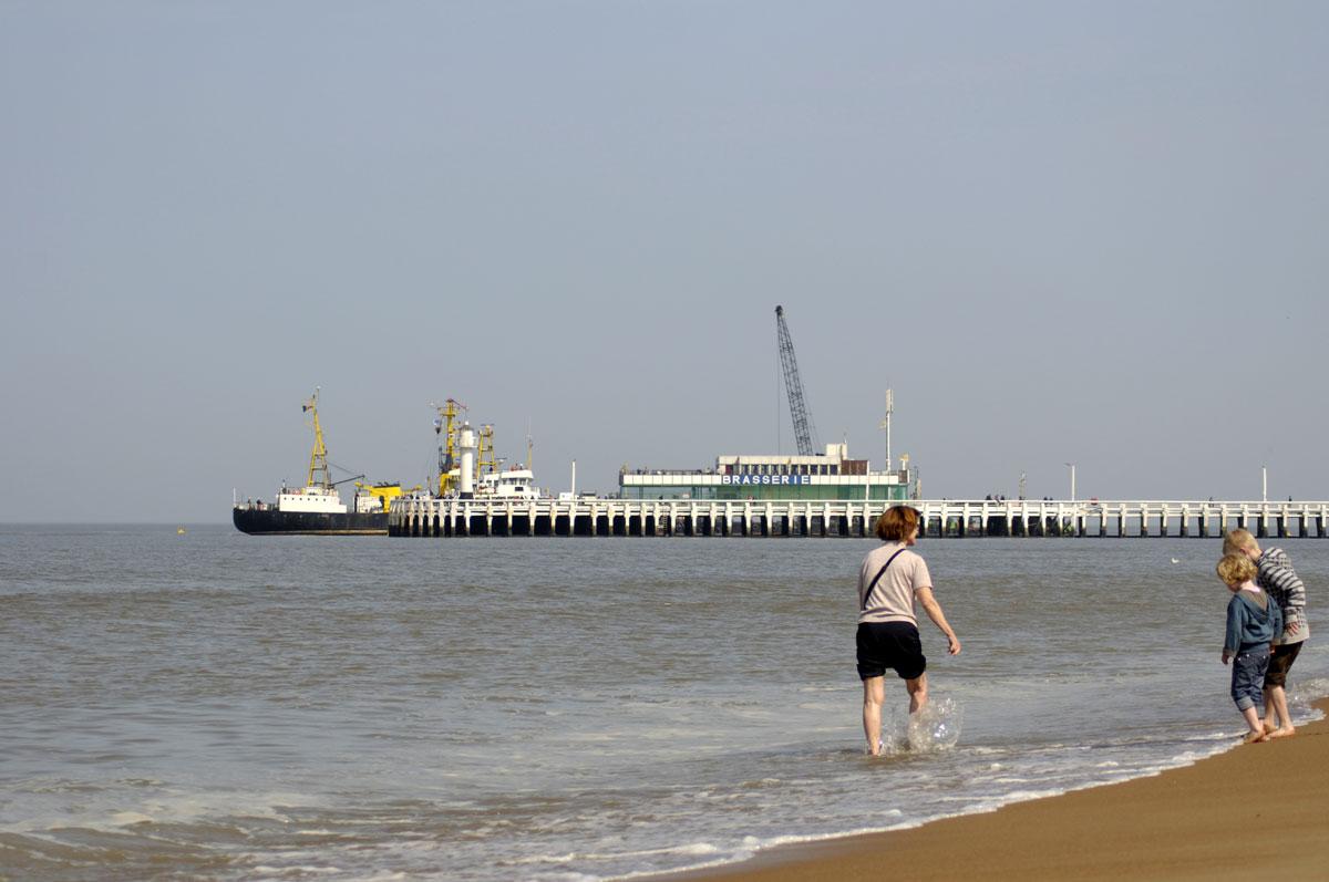 Kneippen am Meer