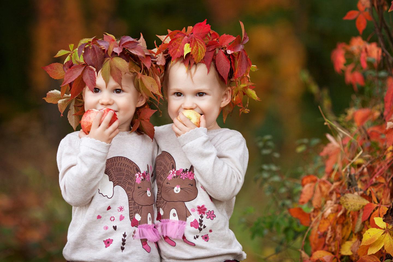 Herbst auf dem Bauernhof