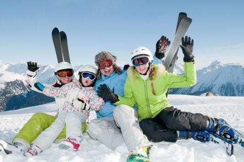 Wintersport mit der ganzen Familie