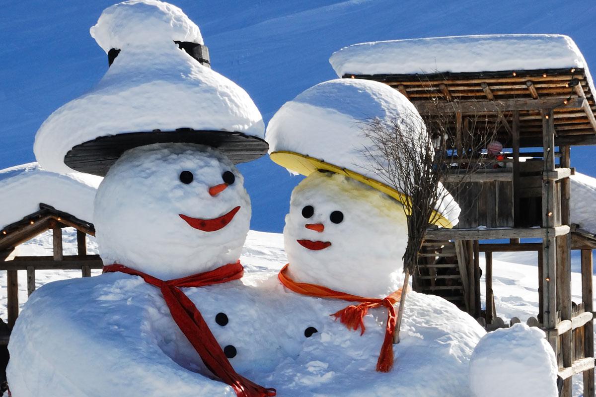 Winterfreuden auf dem Bauernhof
