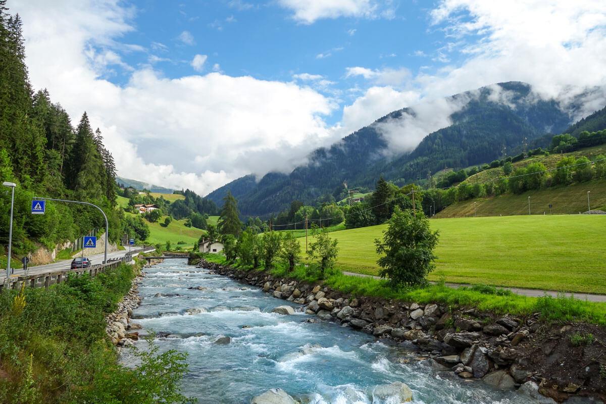 Der Eisack - ein wilder Fluß Südtirols