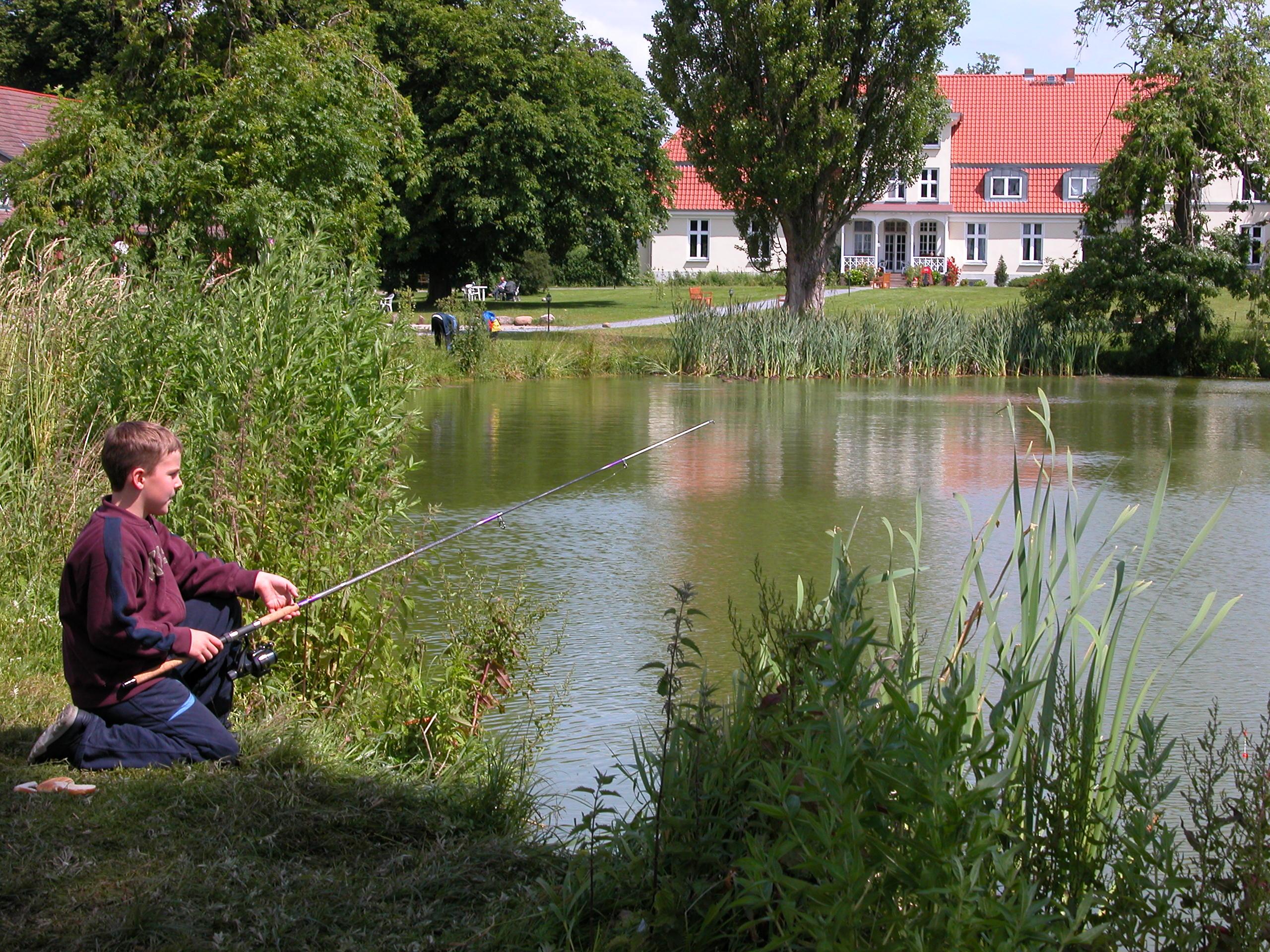 Spannende Angelerfahrungen sammeln - Landgut Lischow