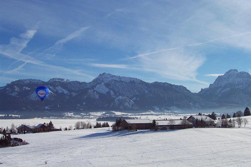 Auch im Winter eine Reise wert der Salenberghof