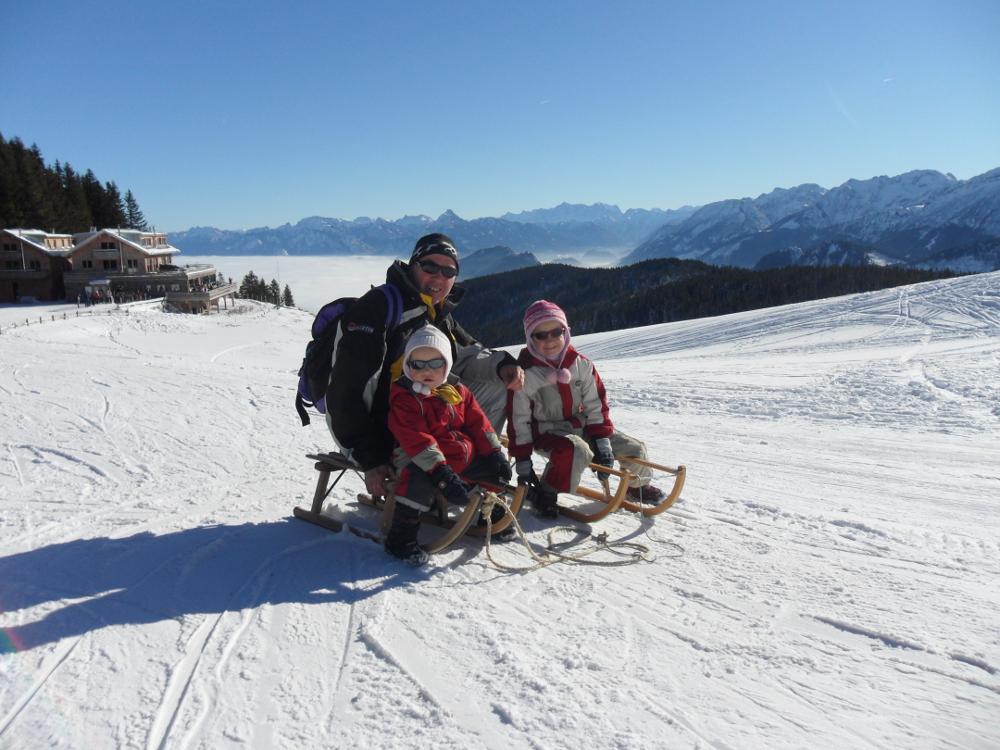 Auch im Winter eine Reise wert zum Kinderbauernhof Hindelang