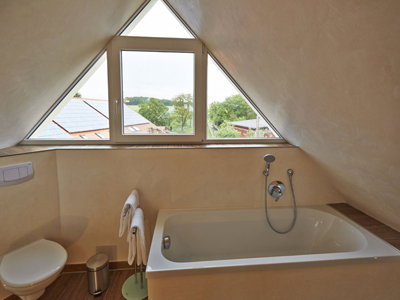 Bad der Wohnung Wolke 7