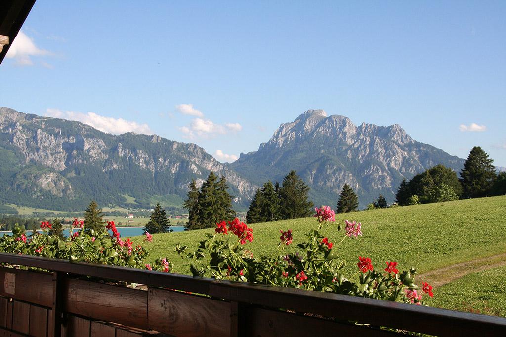 Balkonblick vom Salenberghof