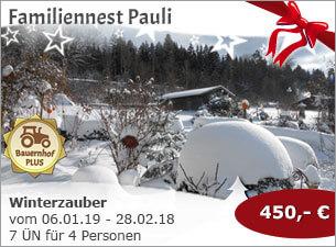 Familiennest Pauli - Winterzauber