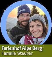 Pia und Stefan Steurer - Ferienhof Alpe Berg