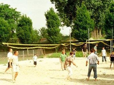 Beachplatz auf dem Poenenhof