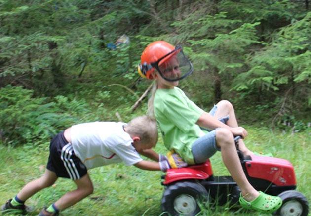 Kinderparadies Ferienbauernhof Hirschfeld