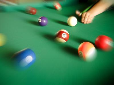Billiard auf dem Ponyhof Grünberger