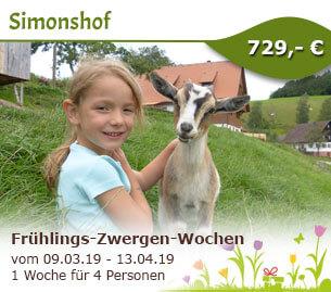 Frühlings-Zwergen-Wochen - Bio-Bauernhof Simonshof