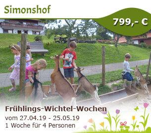 Frühlings-Wichtel-Wochen - Bio-Bauernhof Simonshof