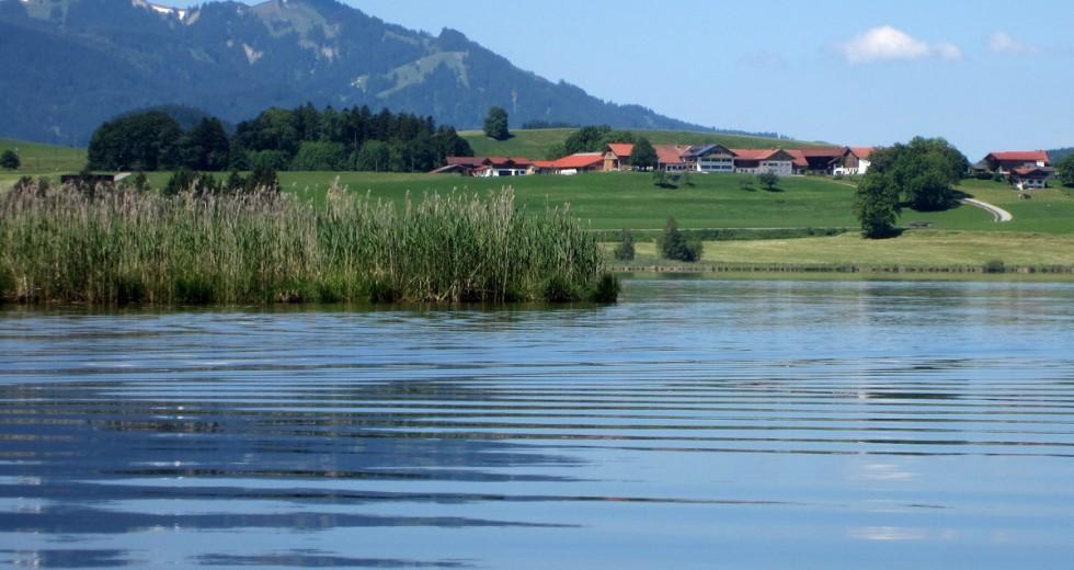 Aktivhofurlaub im Ostallgäu auf dem Ferienhof Böck am Hopfensee