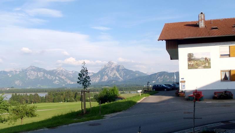 Blick auf die Berge vom Ferienhof Böck
