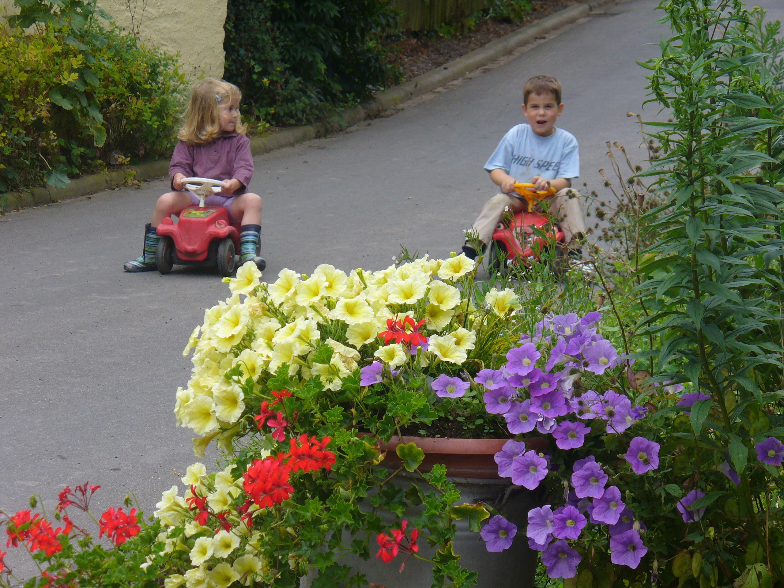 Bobycarrennen auf dem Mayischhof