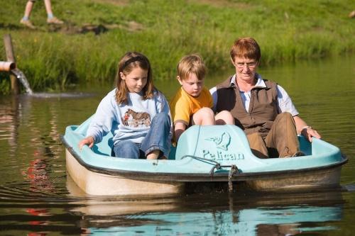 Bootfahren auf dem Schmidbauernhof