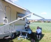 Camping mit Hund auf Schmidts Ferienhof