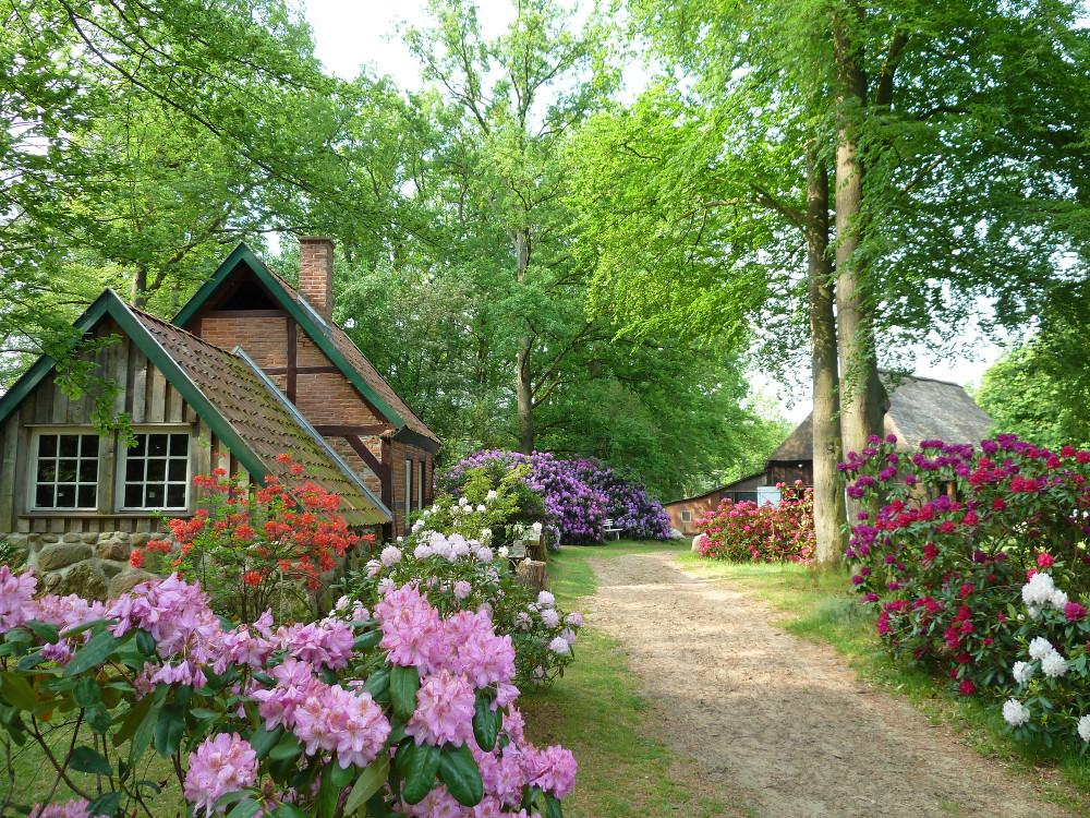 Das Backhaus mit Pferdestall