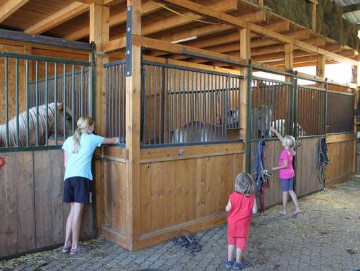 Der Pferdestall