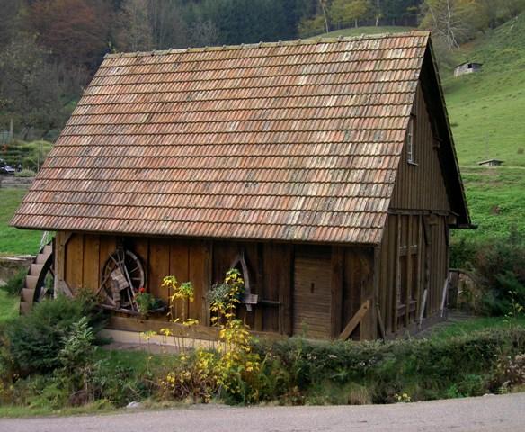 Die Mühle  auf dem Schmidbauernhof
