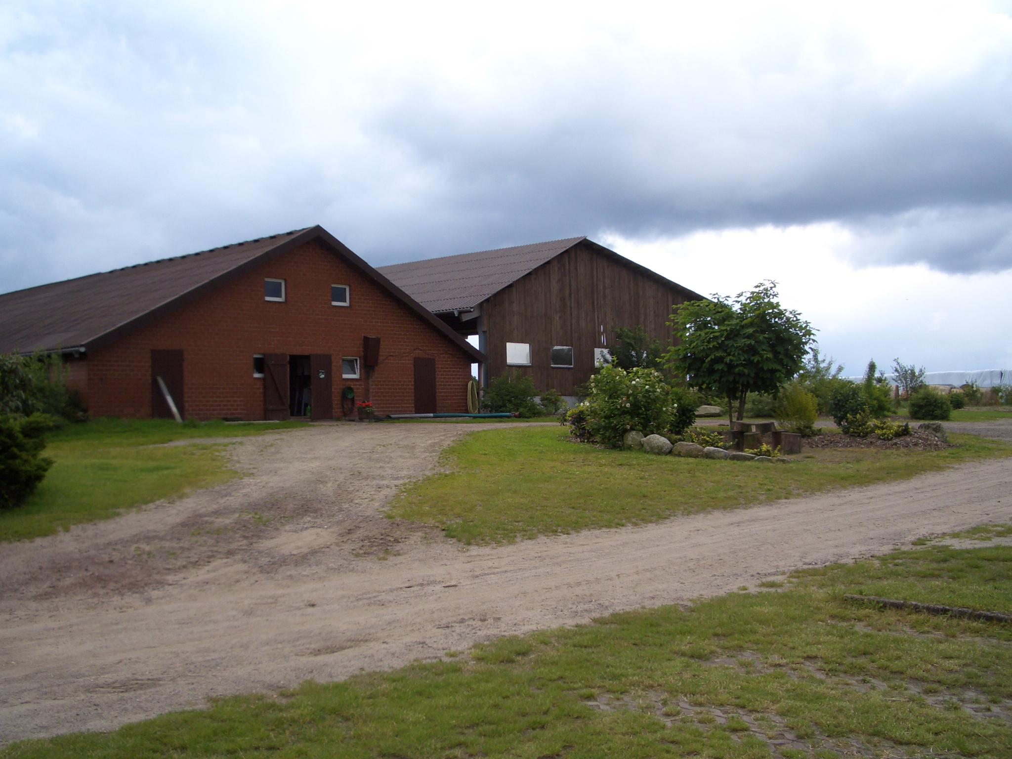 Die Ställe auf dem Cohrshof