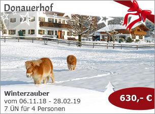Donauerhof - Winterzauber auf dem Donauerhof