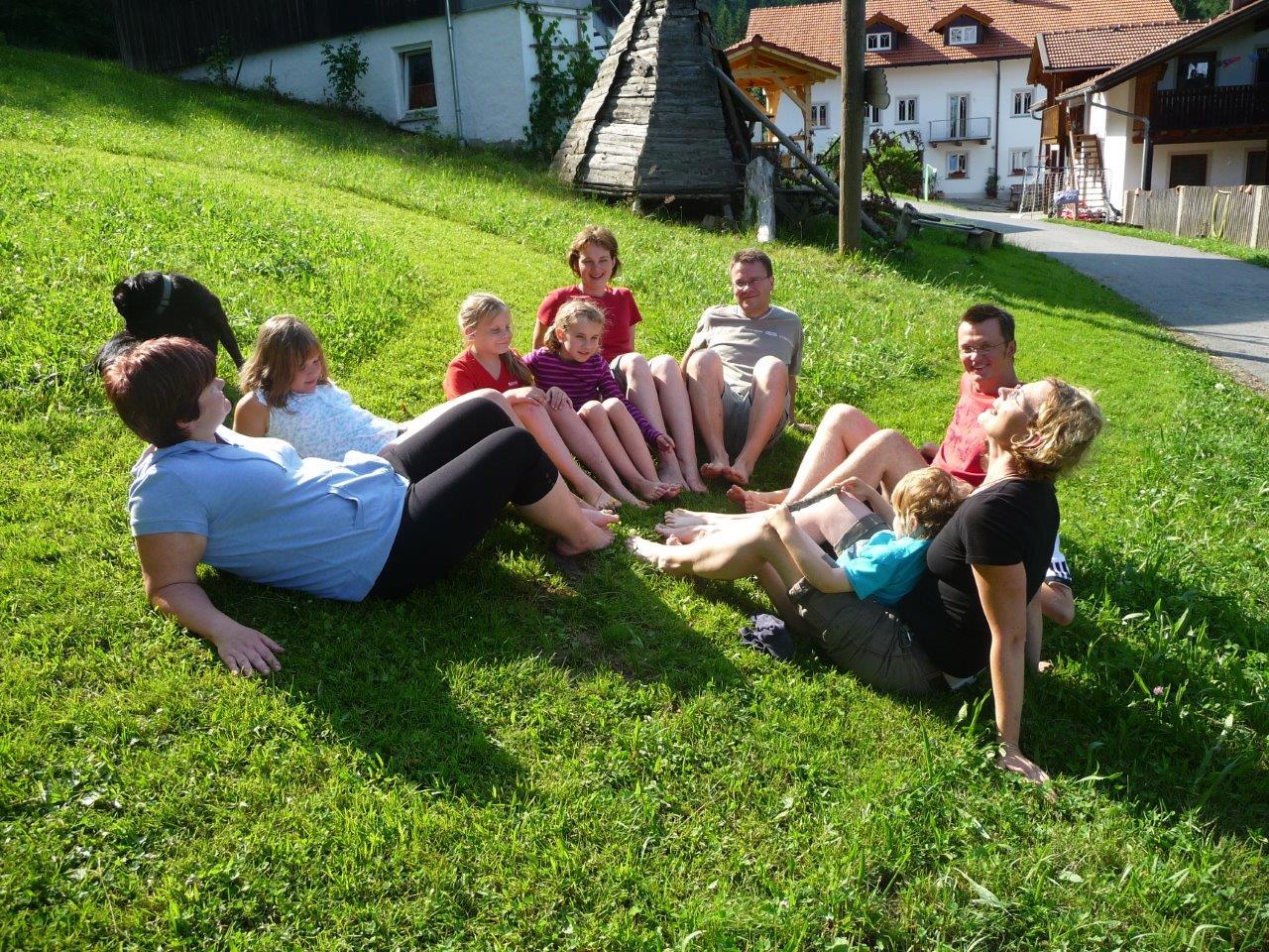 Entspannen auf dem Ranzinger Hof