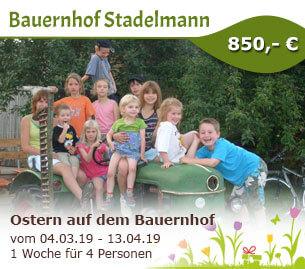 Ostern auf dem Bauernhof - Erlebnisbauernhof Stadelmann