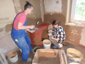 Bericht einer Lehmbauteilnehmerin – Der Kastanienhof