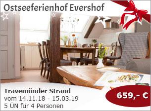 Ostseeferienhof Evershof - Travemünder Strand