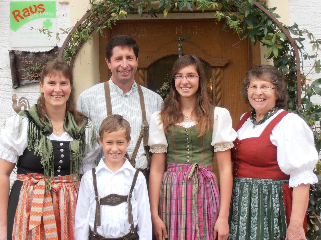 Familie Reiter vom Thomahof