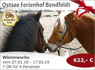 Ostsee Ferienhof Bendfeldt - Winterwoche auf dem Ostsee Ferienhof Bendfeldt