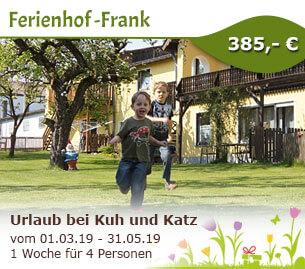 Urlaub bei Kuh und Katz - Ferienhof-Frank