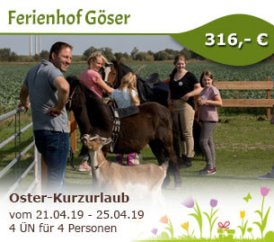 Oster-Kurzurlaub - Ferienhof Göser
