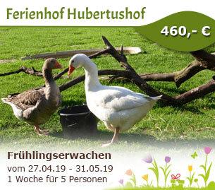 Frühlingserwachen am Ferienhof Hubertushof