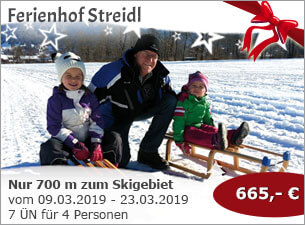 Ferienhof Streidl - Nur 700 m bis zum Skigebiet