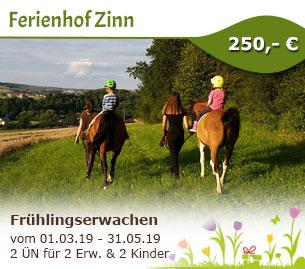 Frühlingserwachen im Vogelsberg - Ferienhof Zinn