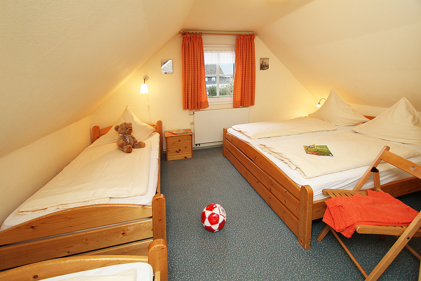 Ferienwohnung Hexenhäuschen - Schlafzimmer