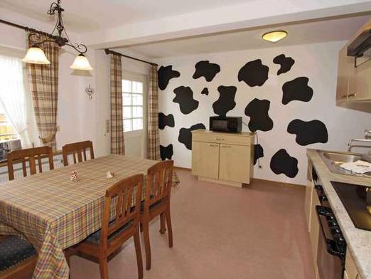 Ferienwohnung Kuh- Wohnküche