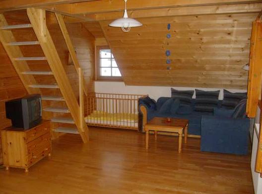 Ferienwohnung Sternschnuppe - Wohnzimmer