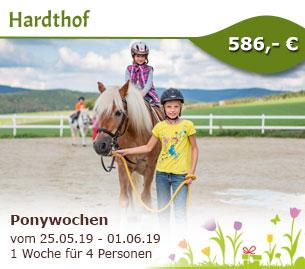 Ponywochen - Ferienwohnungen Hardthof