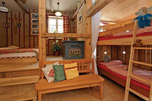 Ferienwohnungen-Impressionen - Berghütte