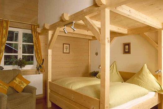 Ferienwohnungen-Impressionen -Schlafzimmer