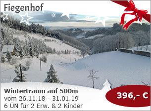 Fiegenhof - Wintertraum auf 500 Höhenmeter