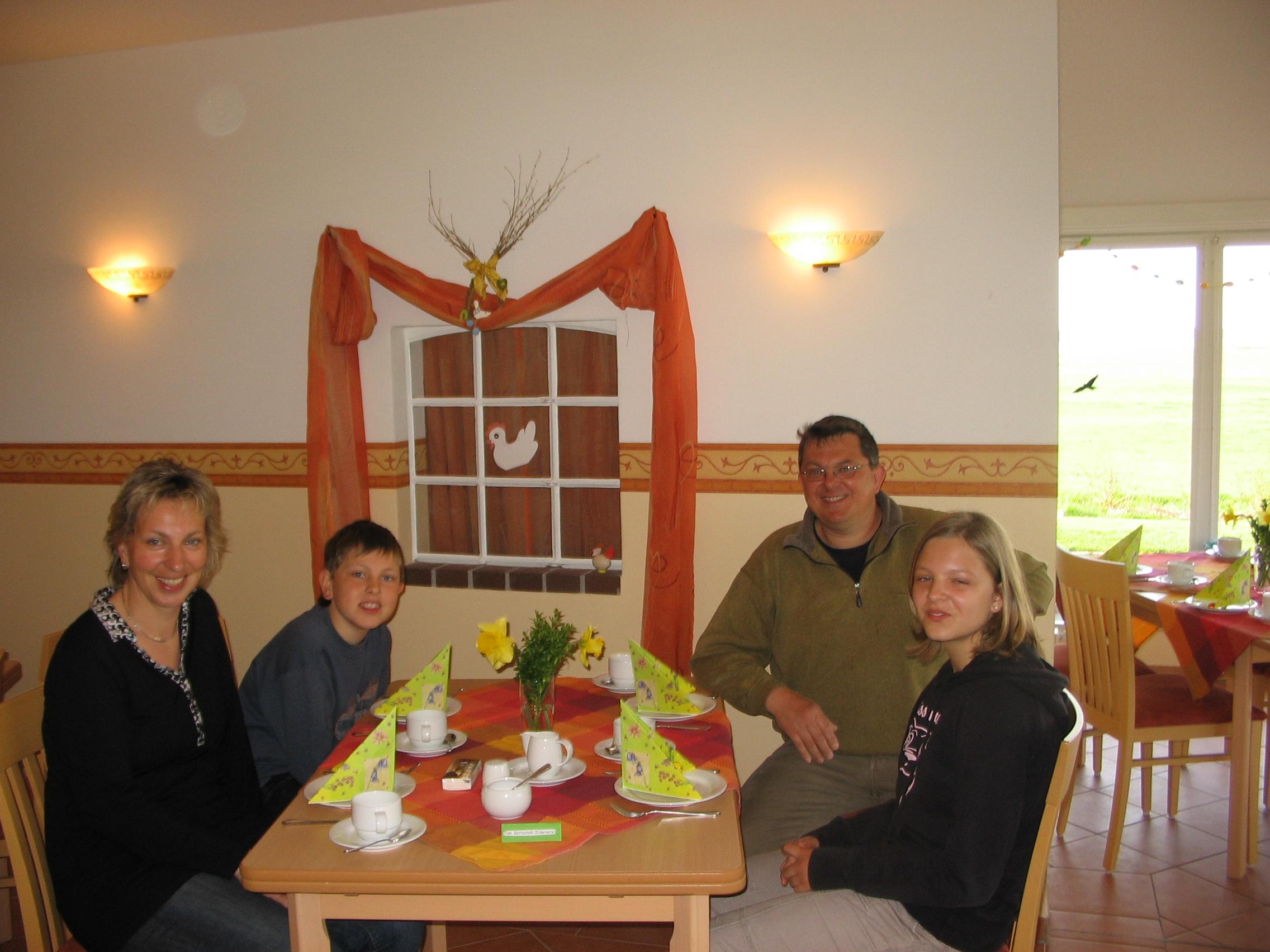 Frühstück auf dem Ferienhof Rickerts